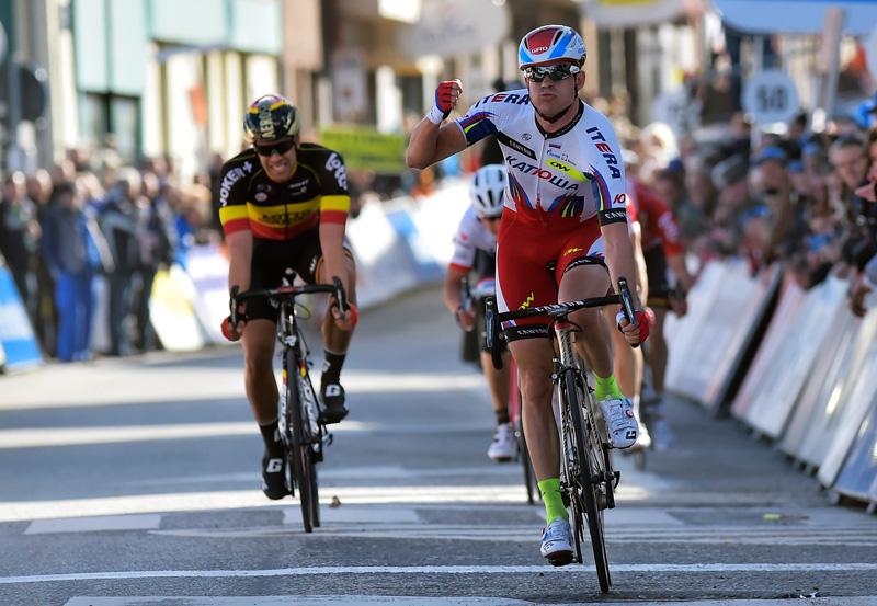 Kristoff gewinnt 1. Etappe Driedaagse De Panne-Koksijde