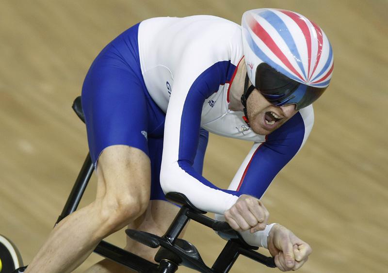Bradley Wiggins bei den Olympischen Spielen in Peking (Foto: Roth&Roth roth-foto.de)