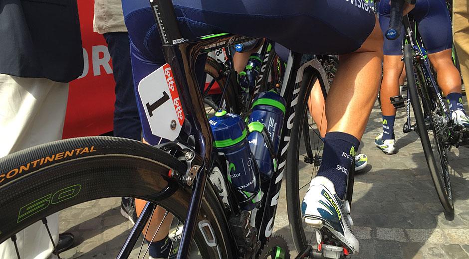 Beine von Alejandro Valverde