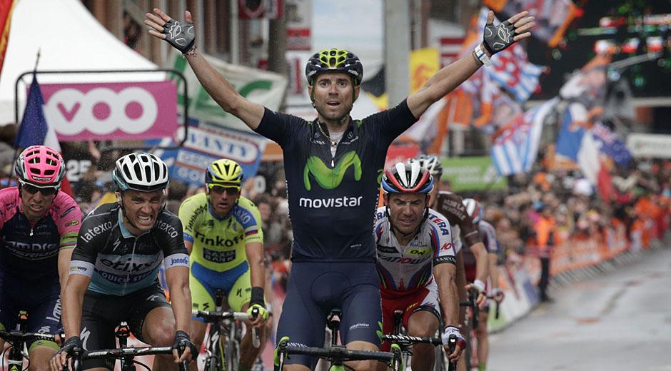 Wieder nicht zu schlagen: Alejandro Valverde (Foto: Roth&Roth; Roth-Foto.de)