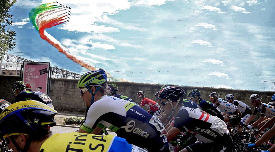 Italiens Herz - der Giro d'Italia (Foto: Roth&Roth; www.Roth-Foto.de)
