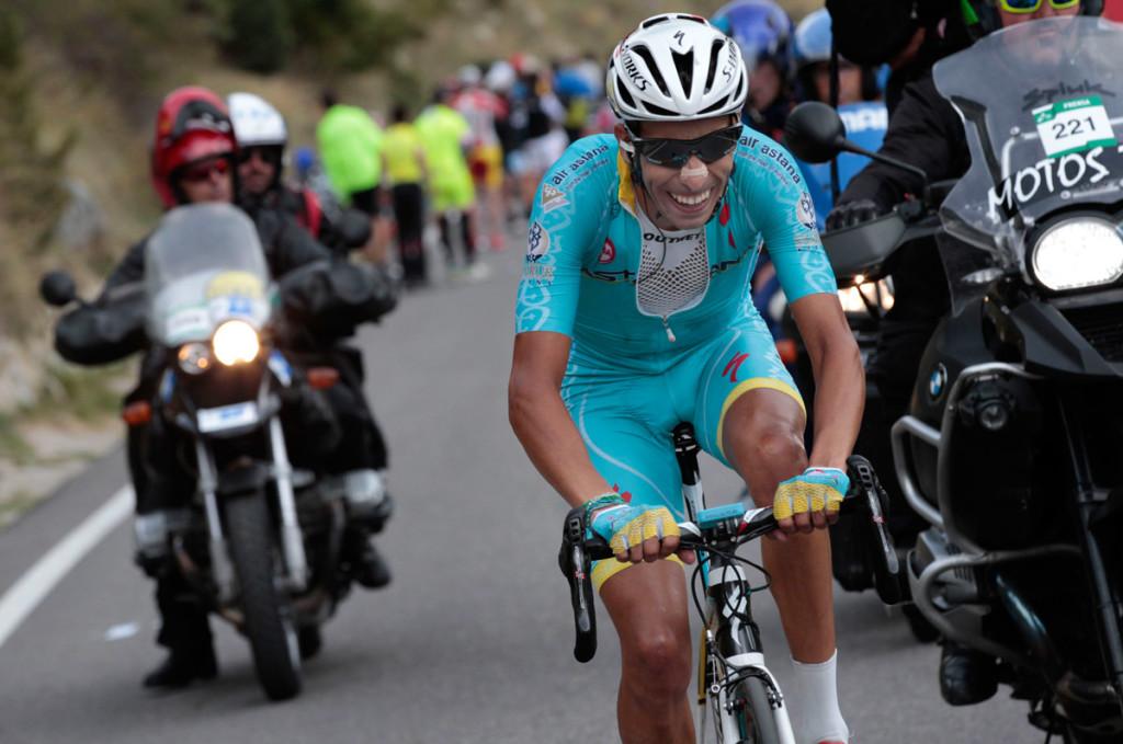 Fabio Aru ist der schnellste am Schlussanstieg (Foto: Roth&Roth roth-foto.de)