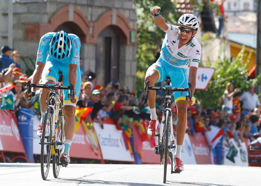 Der große Sieger des Tages, dank seiner starken Helfer - fabio Aru (Foto: Roth&Roth roth-foto.de)