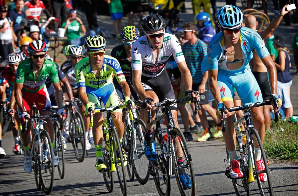 Auch heute weit vorn im Schlussanstieg - Tom Dumoulin (Foto: Roth&Roth roth-foto.de)