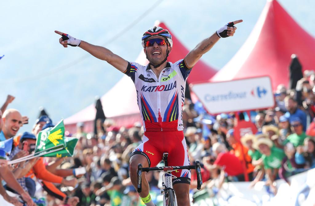 Vuelta Etappensieg Nr. 9 für Joaquim Rodriguez (Foto: Roth&Roth roth-foto.de)