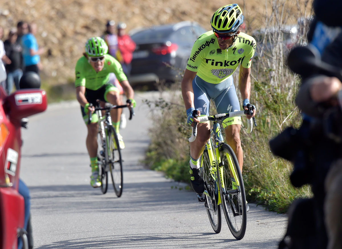 Alberto Contador – den Zenit überschritten? (Foto: Roth&Roth roth-foto.de)