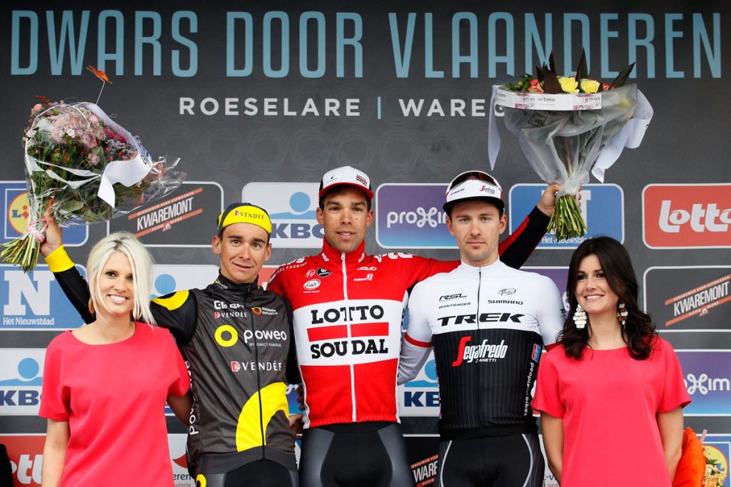 Podium Dwars door Vlaanderen (Foto: Roth&Roth roth-foto.de)