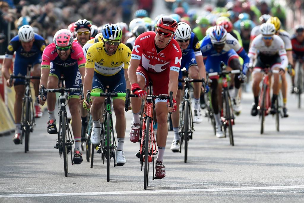 Alexander Kristoff gewann den Sprint um Platz zwei (Foto: Roth&Roth roth-foto.de)