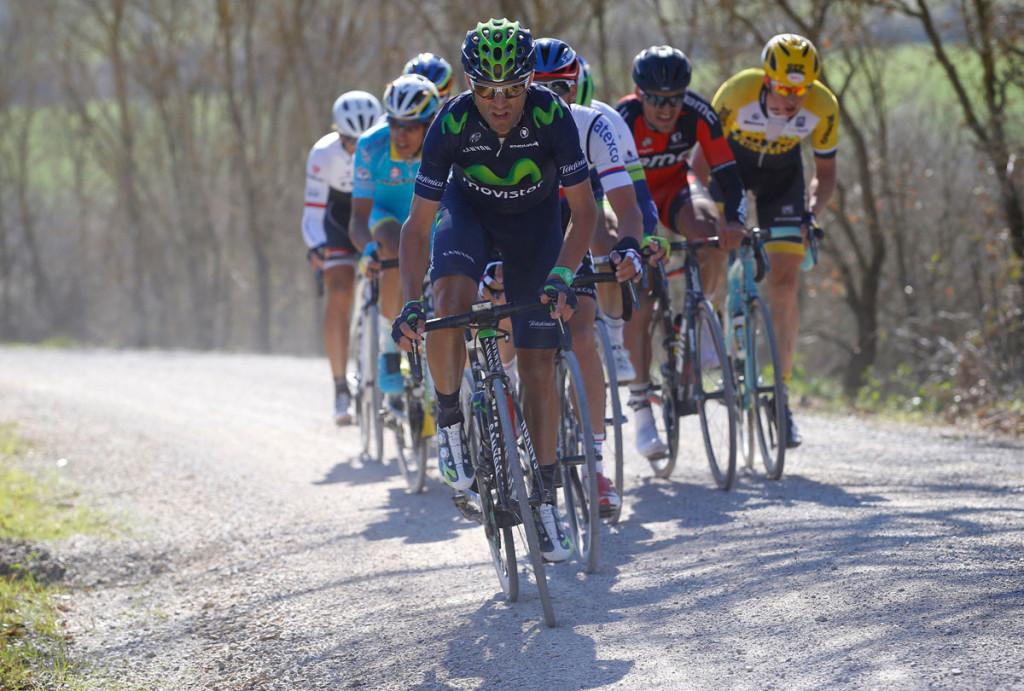 Alejandro Valverde an der Spitze (Foto: Roth&Roth roth-foto.de)