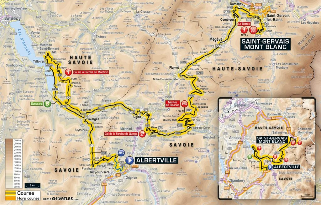Tour De France 2016 Alle Etappen Mit Profil Und Karte Cycling