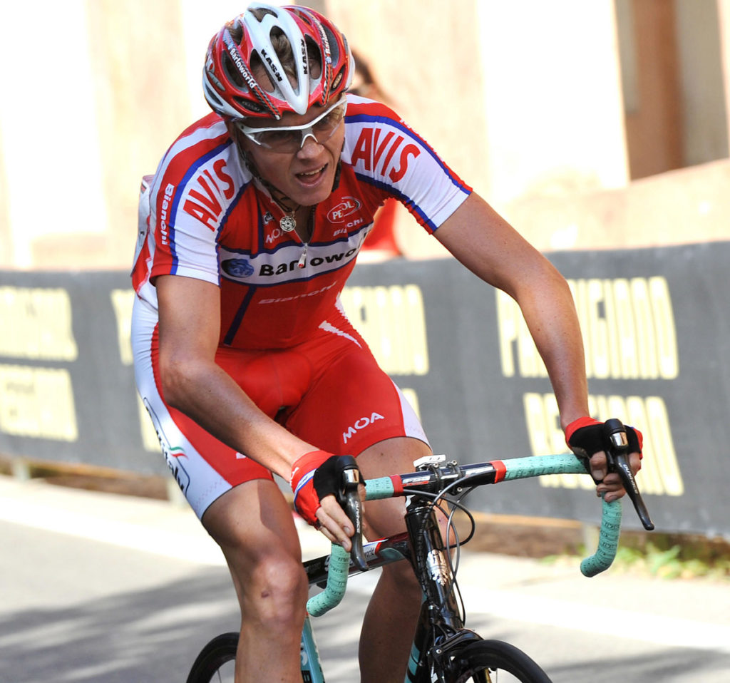 Chris Froome beim Giro 2009 im Barloworld Trikot (Foto: Roth&Roth)