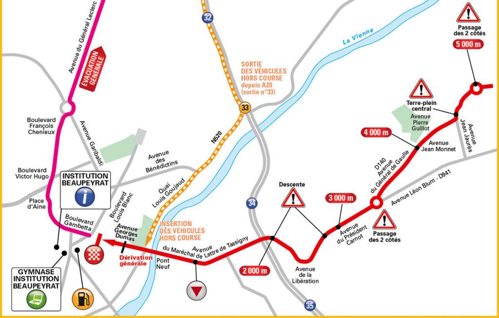 Die Anfahrt zum Ziel der 4. Etappe der Tour de France 2016