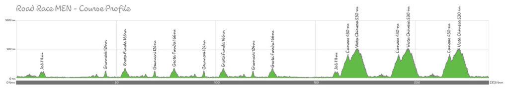 Profil des olympischen Straßenrennens von Rio 2016