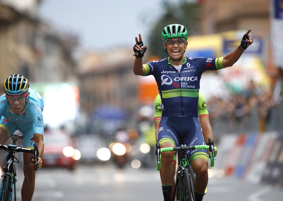 Esteban Chaves hat nicht nur in der Lombardei gezeigt, was er kann (Foto: Roth&Roth)