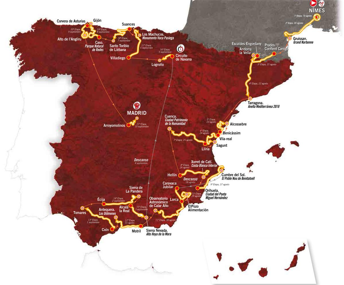 spanien rundfahrt