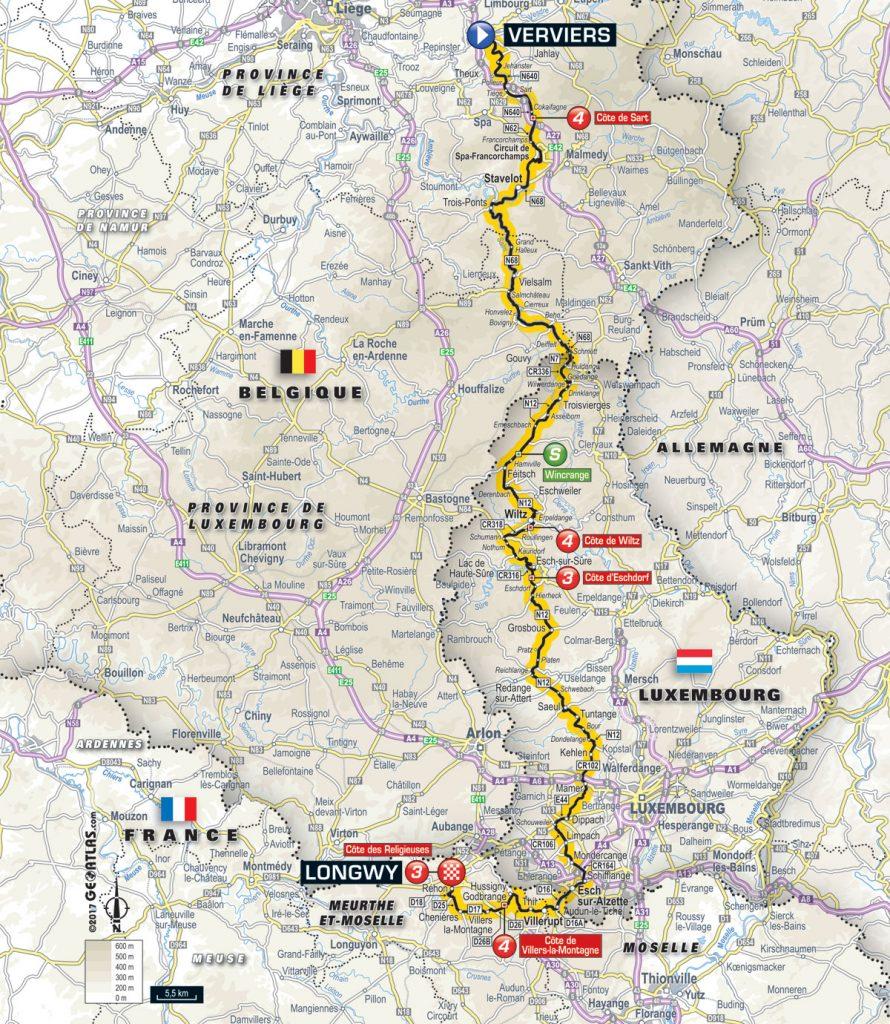 Tour De France 2017 Vorschau Auf Etappe 3 Puncheur Finale In