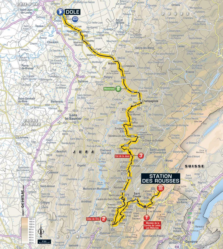Tour De France Vorschau Auf Etappe 8 Ab In Die Berge Cycling