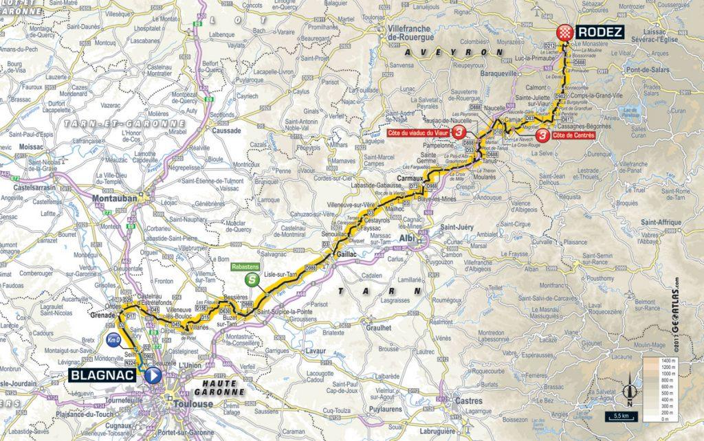 Tour De France Vorschau Auf Etappe 14 Finale Für Puncheure