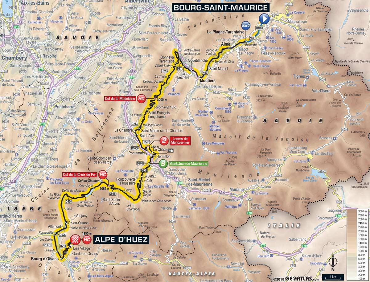 Tour de France: Profil, Karte & Vorschau auf Etappe 12 – Spektakel ...