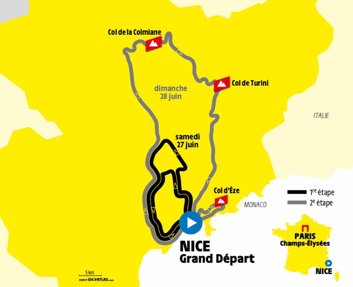 Tour De France 2020 Schedule Tour de France 2020: Schon am 2. Tag wird geklettert | Cycling