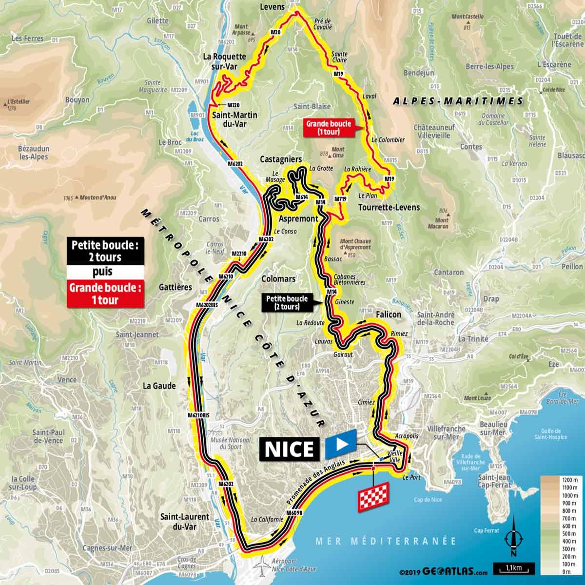 Tour De France 2020 Streckenverlauf