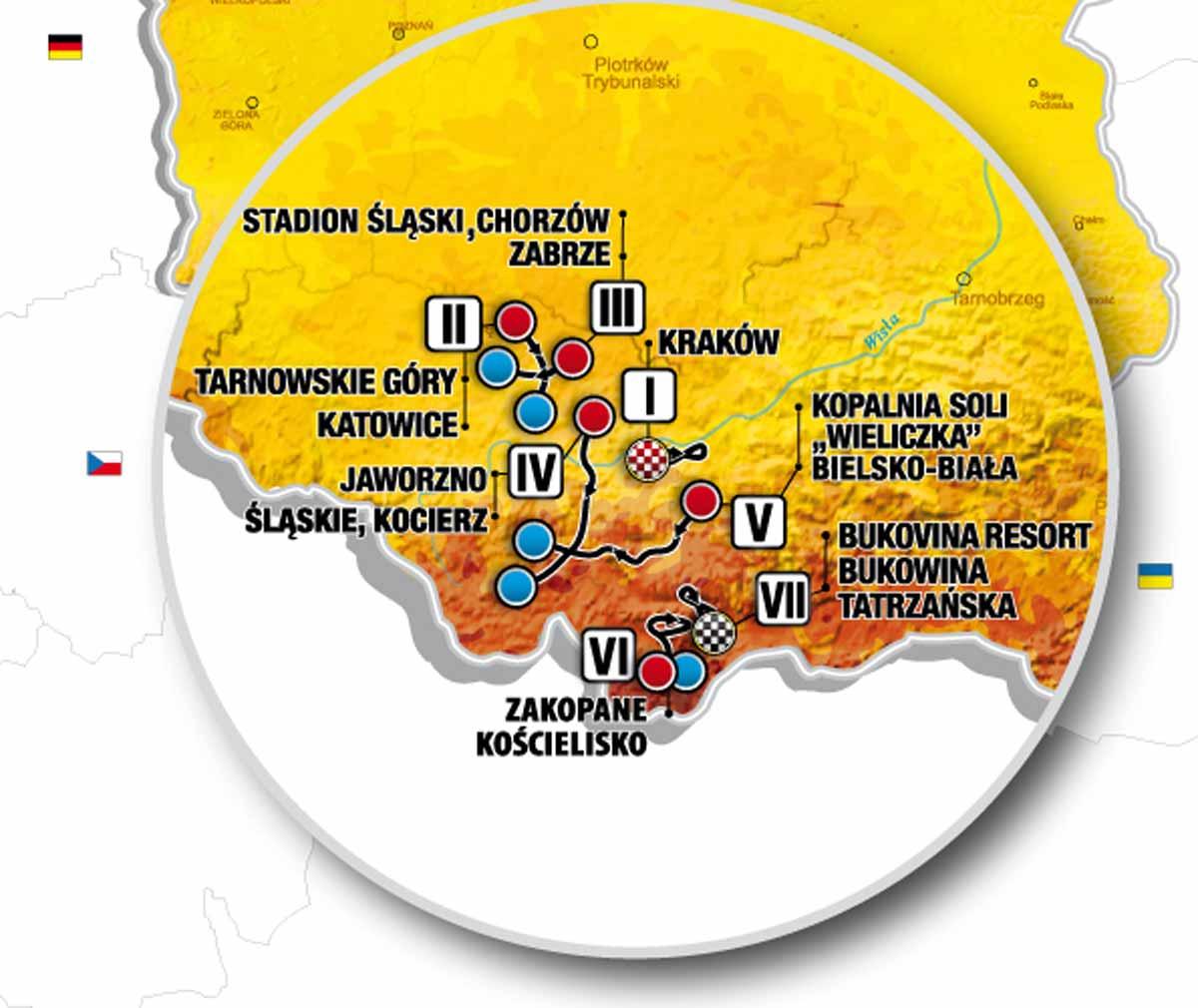 Polen Karte 2019.Polen Rundfahrt 2019 Vorschau Etappen Startliste Der 76