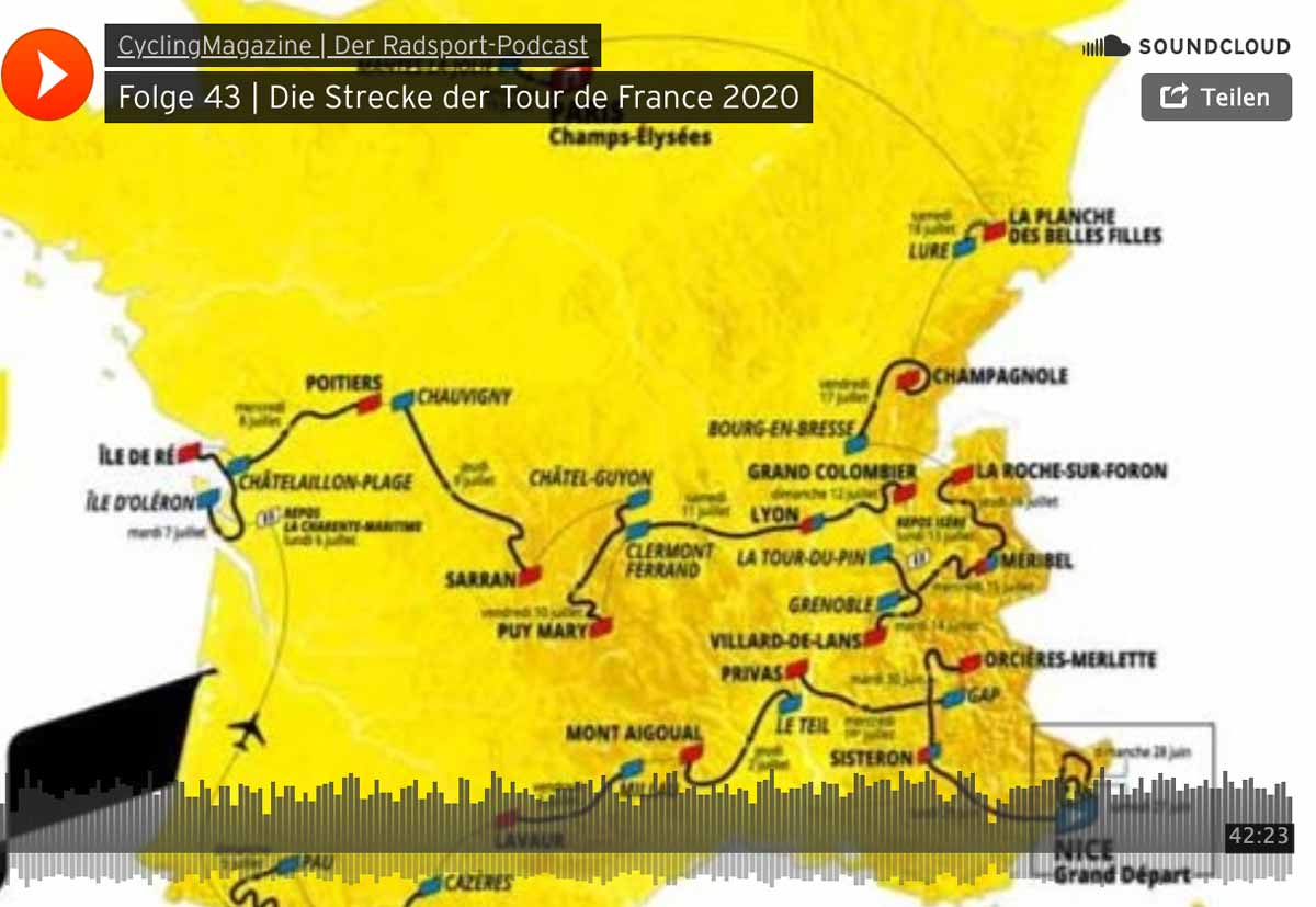 Tour De France 2021 Strecke