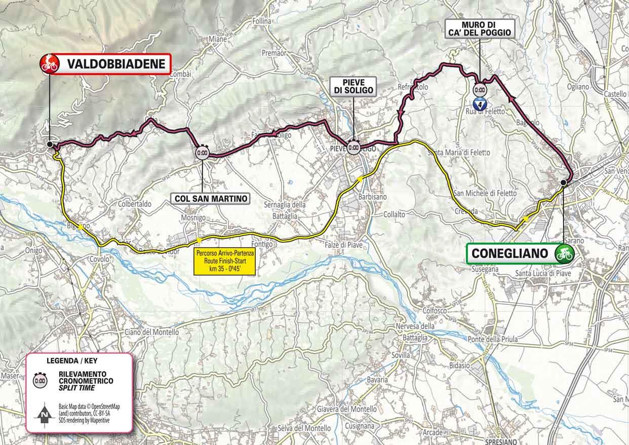 Giro DItalia 2021 Etappen