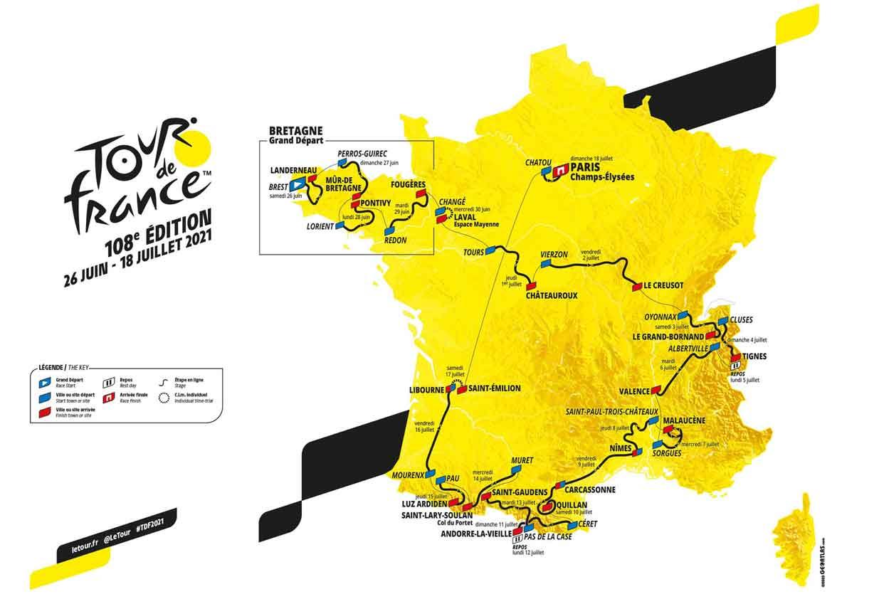 Tour De France 2021 Favoriten